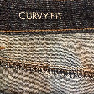 Ann Taylor Jeans - Ann Taylor Curvy Crop Ankle Jeans • Sz 12